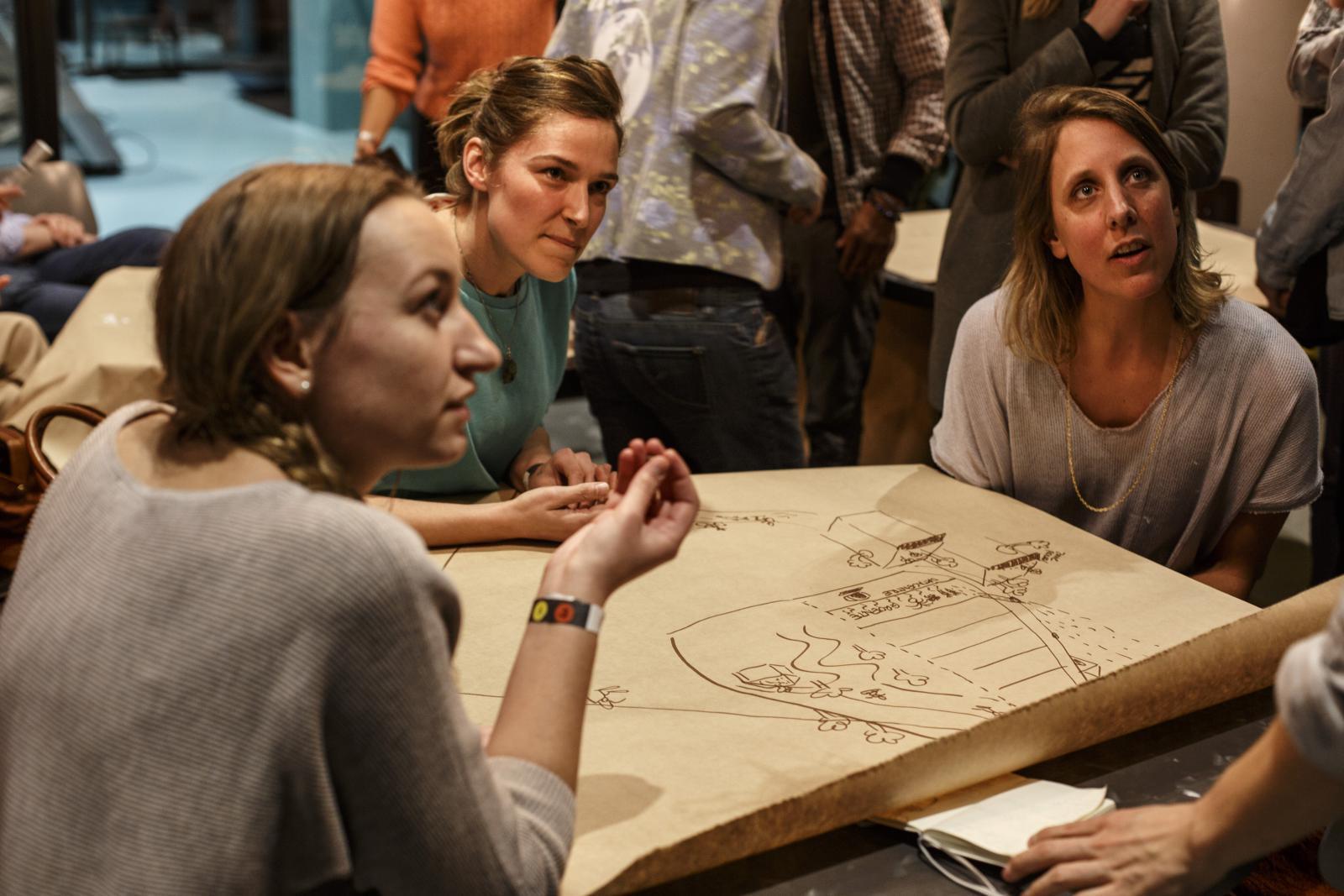 Deelnemers training: Act on your carbon footprint georganiseerd door de Gezonde Stad