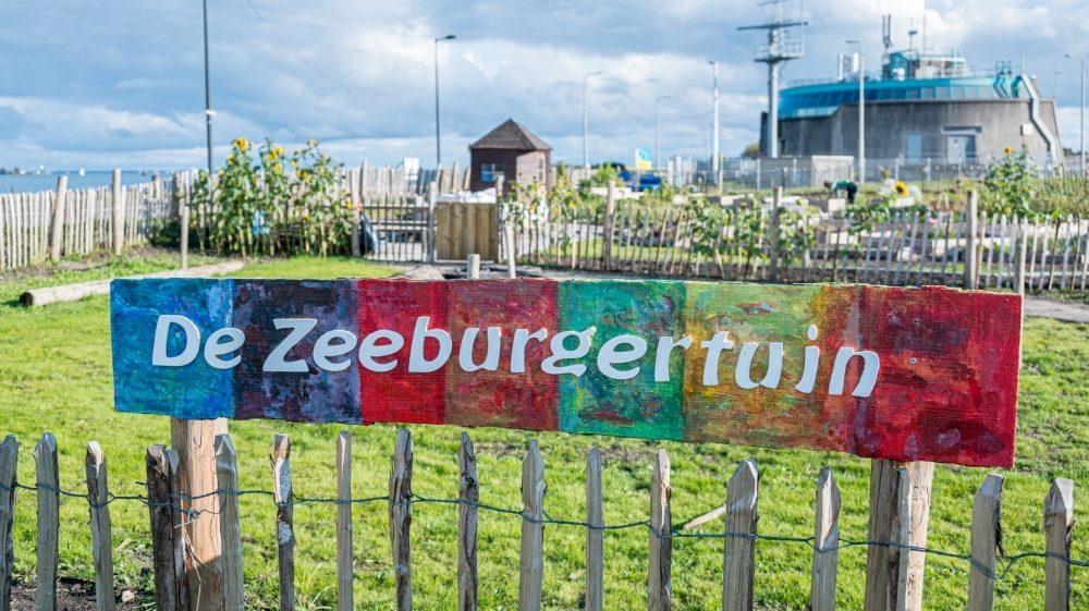 Vooraanzicht Zeeburgertuin