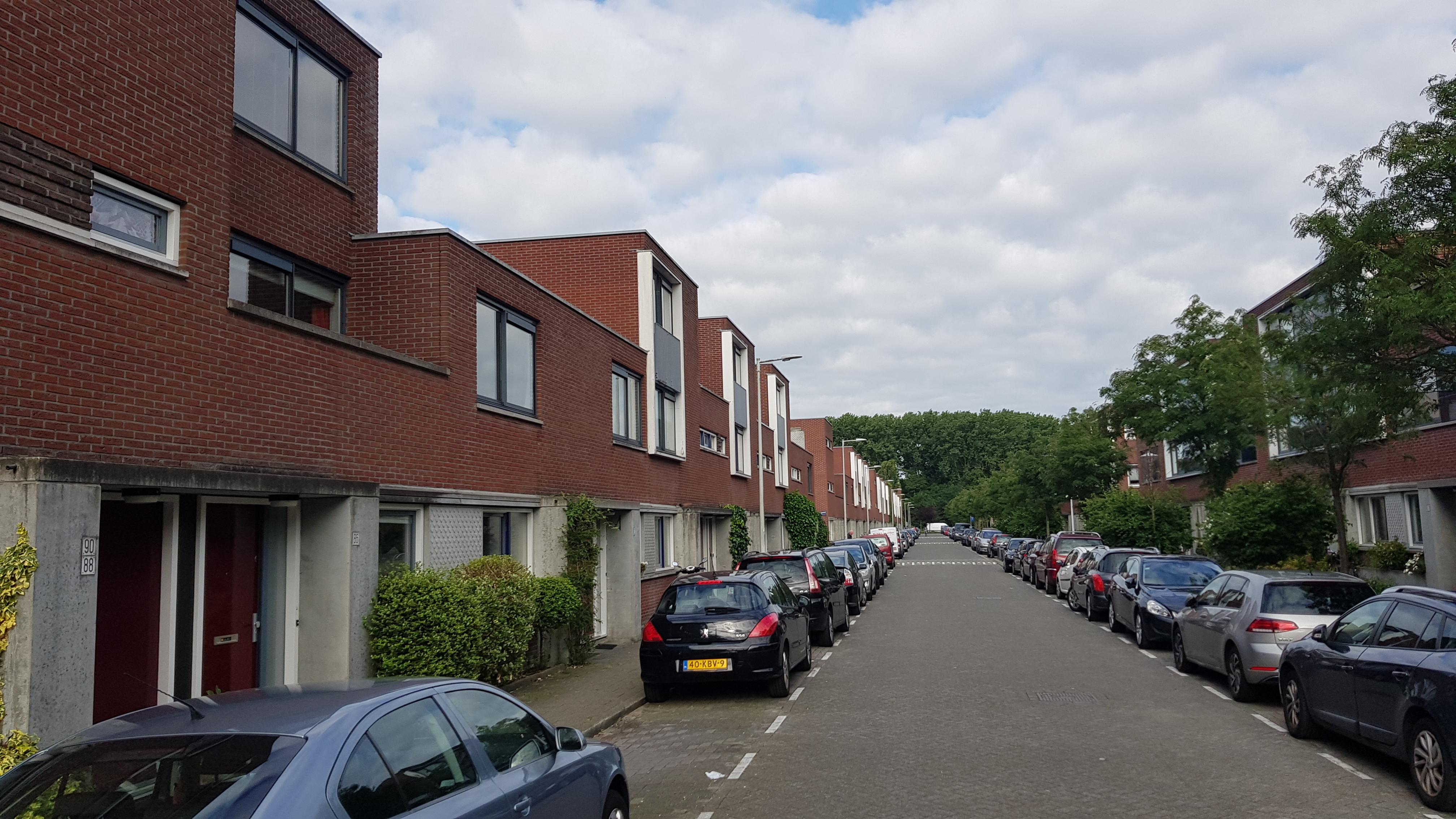 Huizen in de Robert Fruinlaan